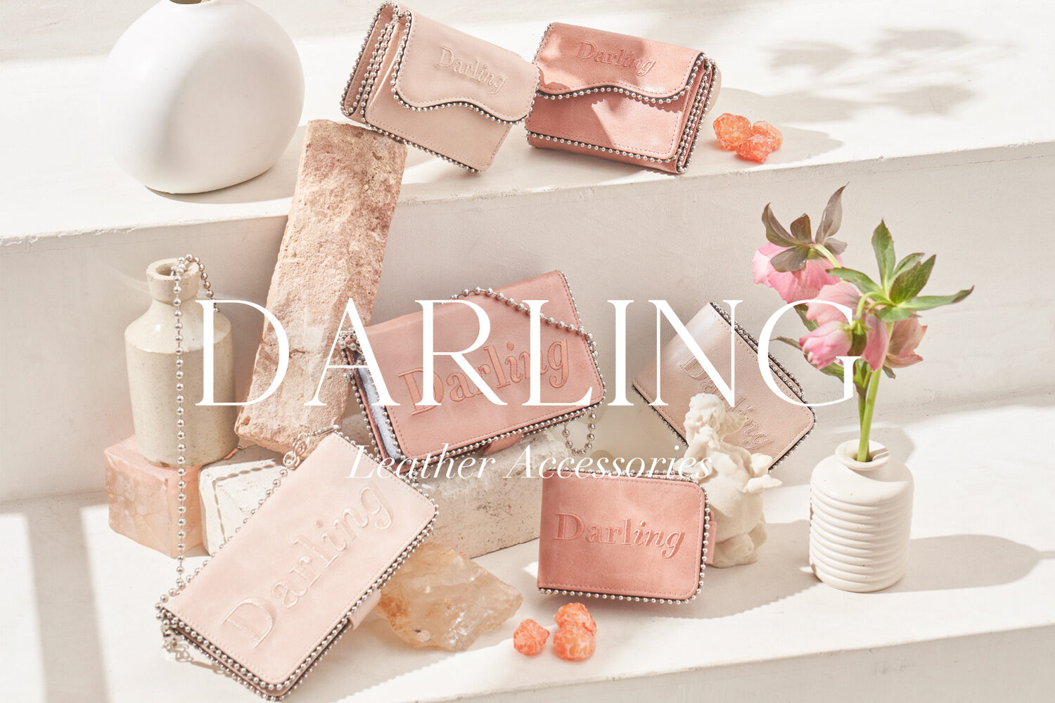 21SS Darling Leather Accessories新作特集