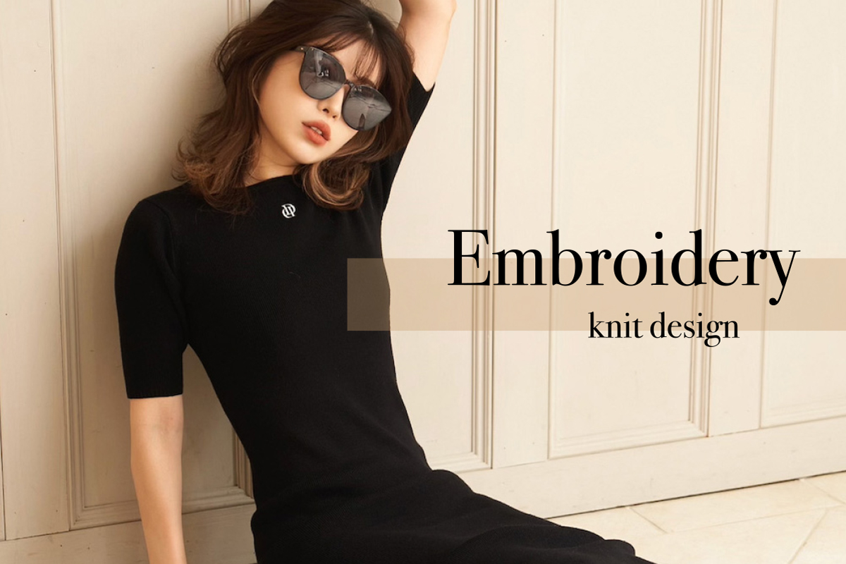 """21AW """"D"""" embroidery knit新作特集"""
